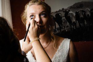 # Bruidsmake-up